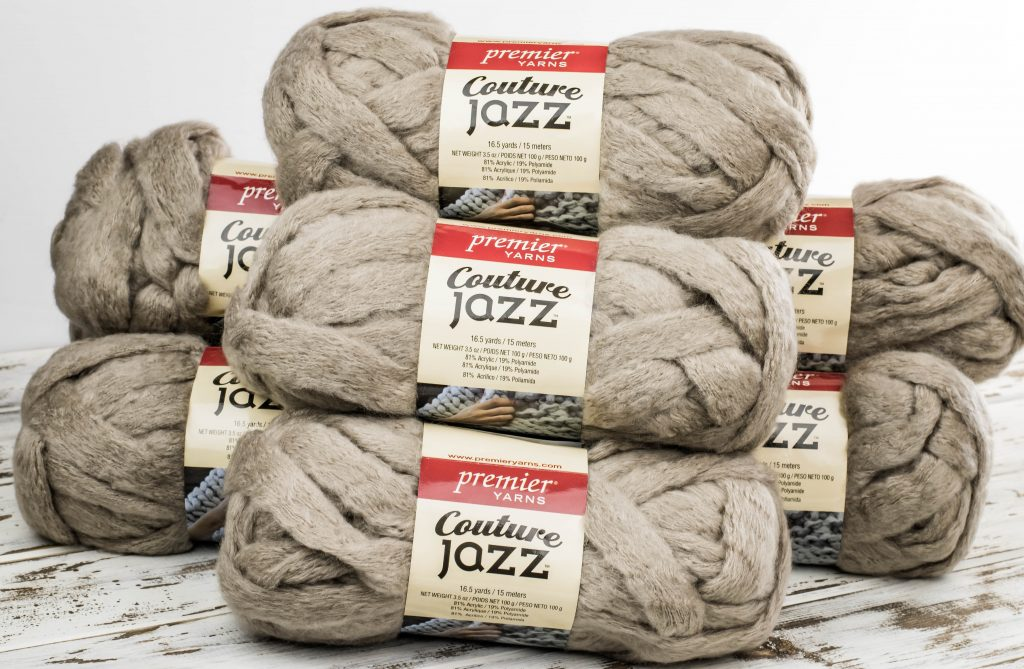 Premier Yarn Couture Jazz Beige - Jumbo Yarn