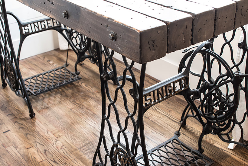 Rustic Industrial Desk
