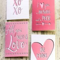 Last Minute Valentine's Day Cards for The Forgetful but Well Intentioned.