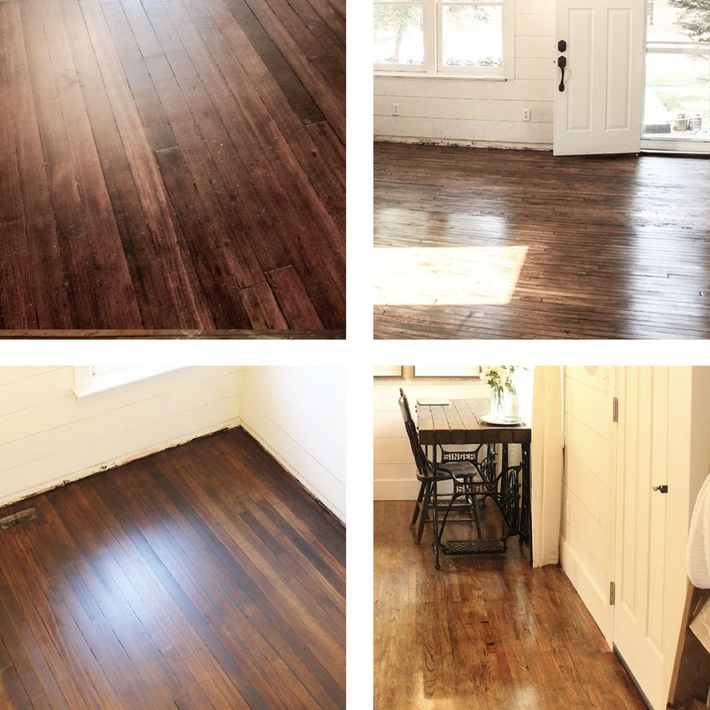 4 Examples of Hardwood Floors After Restoration