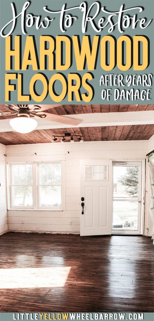 You have to see the before photos.  We take 100-year-old oak floors in the worst possible condition and restore them back to life.