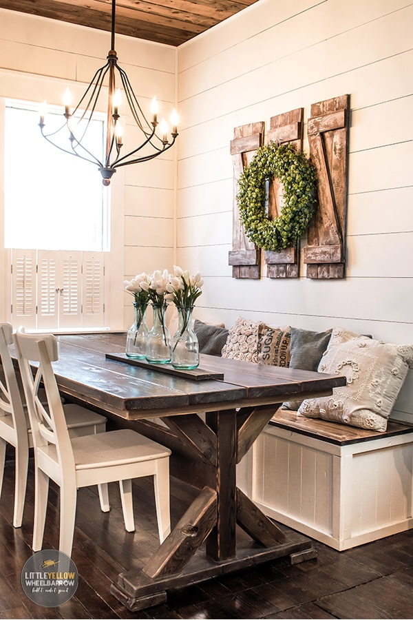 Rustic Shutters For A Touch Of Farmhouse Charm