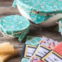 How To Make DIY Beeswax Wraps Without Resin.