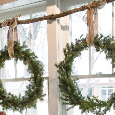 DIY Wreaths for the Holidays that Won't Cost you a Cent.