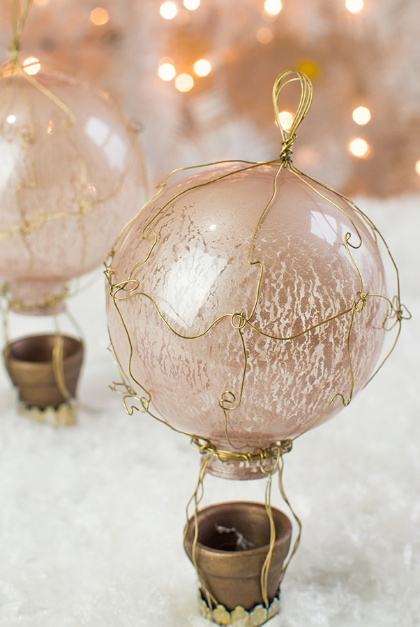 French Hot Air Balloon Ornaments Here