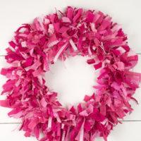 How to Make a Rag Wreath Super Fluffy
