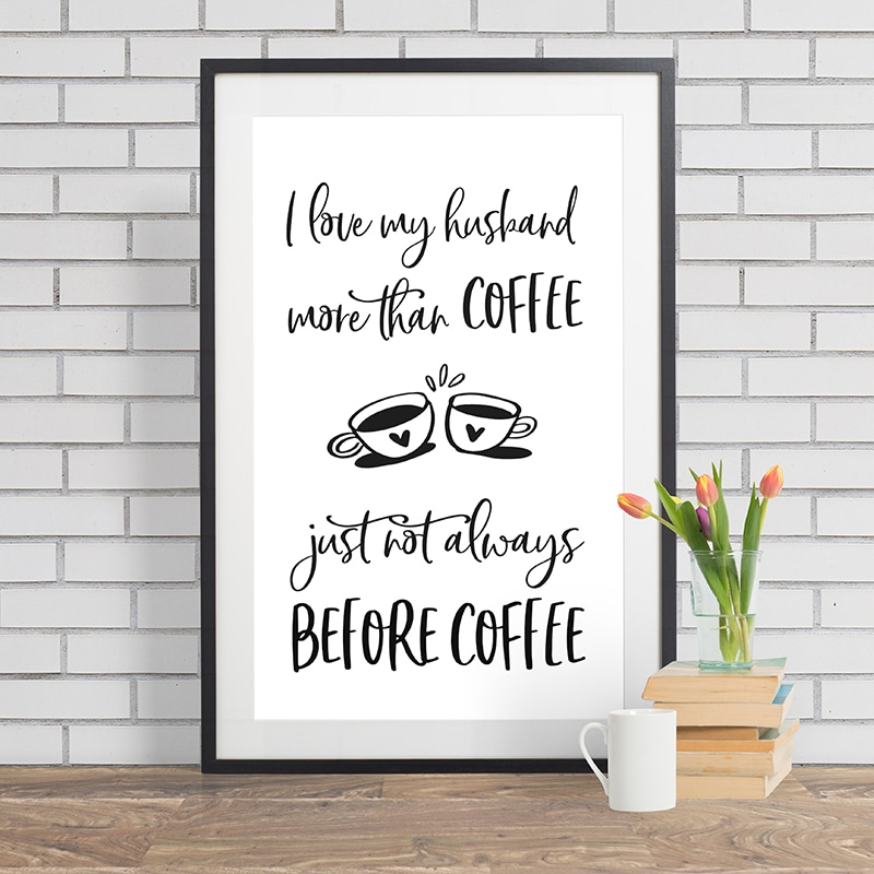 COFFEE WALL ART #1
