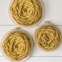 Giant Yellow Rose Wall Hangings