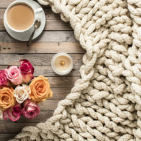 How to Make a Cozy Finger Knit Blanket in Under Two Hours
